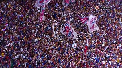 Desfalque na final, Hernane comemora título do Bahia e enaltece torcedor:'É a Nação Tricolor'