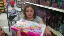 Annabelle Freaks Out in Walmart Shopkins & Magic 8-Ball Freak Family Vlog #11