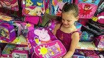 Backpack Shopping Haul Victoria & Annabelle Freak Family Vlogs Sharks & Emojis