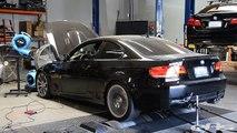 2009 BMW E92 M3 ESS VT2-625 Supercharger & Akrapovic Evolution Dyno