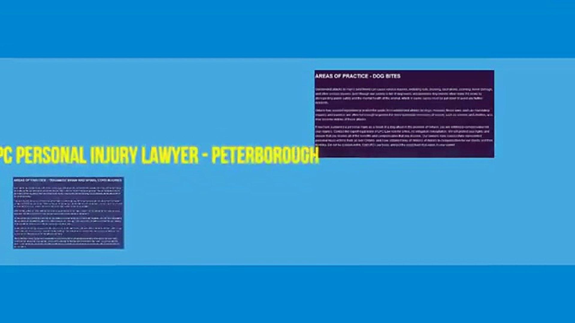 Attorney Lawyer Peterborough - LPC - Personal Injury Lawyer Peterborough (705) 243-3685