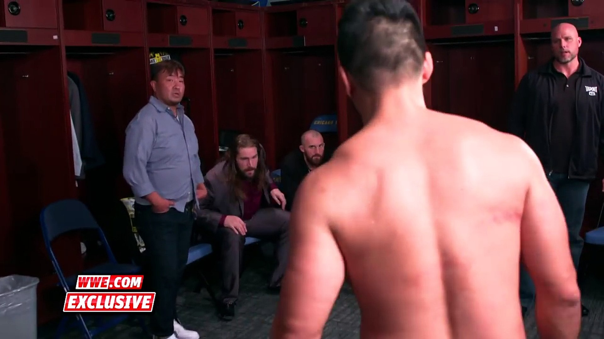 Hideo Itami goes ballistic following loss to NXT Champion Bobby Roode- Exclusive, May 20, 2017