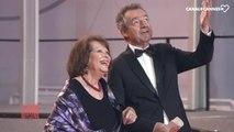 """Claudia Cardinale """"Si j'aime le script je rencontre le metteur en scène"""" - Le Journal du Festival du 23/05"""