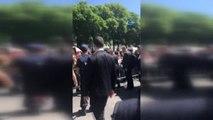 Brüksel)- Cumhurbaşkanı Erdoğan'a, Brüksel'de Sevgi Gösterisi