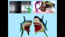 Sharks vs Green Goblin Sharknado 3 Parody Toy Shark Video