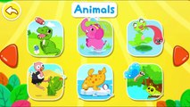 Animación bebé Juegos Niños Aprender Nuevo pegatinas temas palabras Panda |