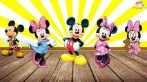 Mickey Fare ve Ailesi Parmak Ailesi Şarkısını Söylüyorlar Haydi Hep Birlikte,Çizgi film izle 2017