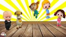 Patron Bebek, Niloya, Kuzucuk, Mete ile Çocuklar için Parmak Ailesi,Çizgi film izle 2017
