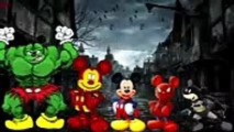 Ironman Mickey Mouse Spiderman and Superman Finger Family