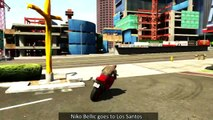 NIKO BELLIC IN GTA 5 (GTA 5 Fun234234
