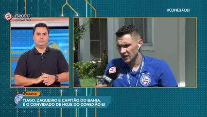 Emprestado pelo Atlético-MG, Tiago revela desejo de permanecer no Bahia