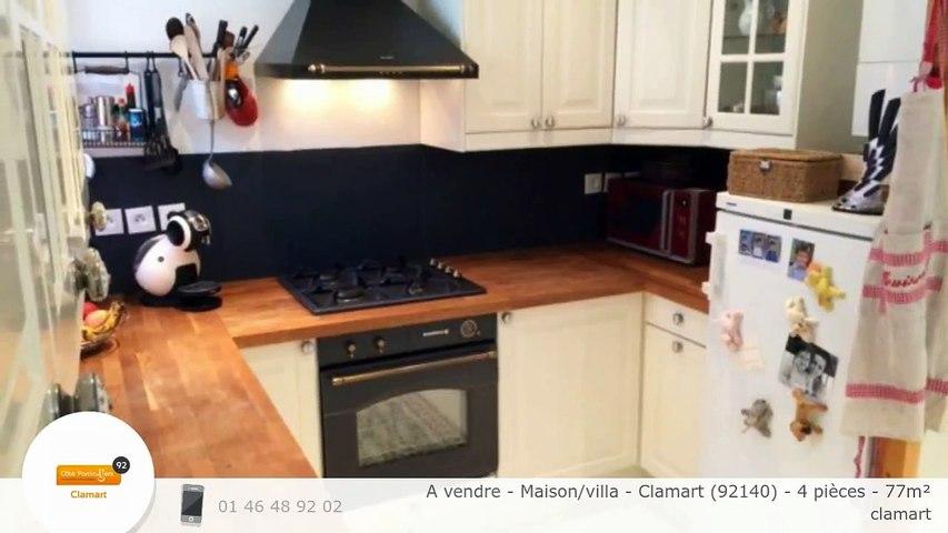 A vendre - Maison/villa - Clamart (92140) - 4 pièces - 77m²