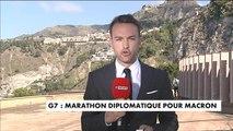 G7 : Marathon diplomatique pour Emmanuel Macron - Politique