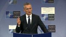 """Donald Trump s'est montré """"très clair"""" avec l'OTAN"""