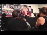 Deontay Wilder on fighting Alexander povetkin - esnews