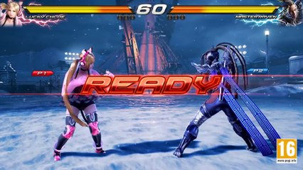 Lucky Chloe VS Master Raven (Character Gameplay) de Tekken 7