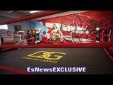 CLOSE LOOK into Danny Garcia DSG gym in Philly - EsNews Boxing
