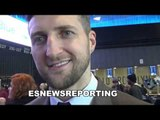 carl froch andre ward is ducking ggg THATS WHY HE'S MOVING UP! EsNews Boxing
