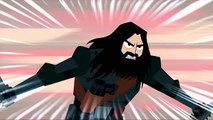 Samurai Jack fighting Scaramouch The Merciless Part 2 - Samurai Jack S05E1