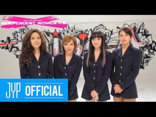 [Greeting] miss A Greetings to YouTube users
