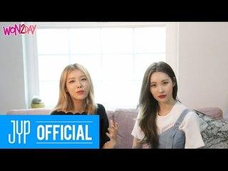 [WON2DAY] 01 Yubin&Sunmi - Entertainment