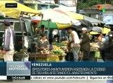 Habitantes de Táchira afectados por asedio de grupos opositores