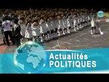 Défilé 4avril,  le coup de coeur du défilé avec l'école des Officiers de la gendarmerie (EOGN)