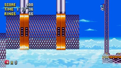 Sonic Mania : Knuckles in Flying Battery Zone