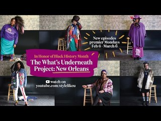 The What's Underneath Project: New Orleans Trailer