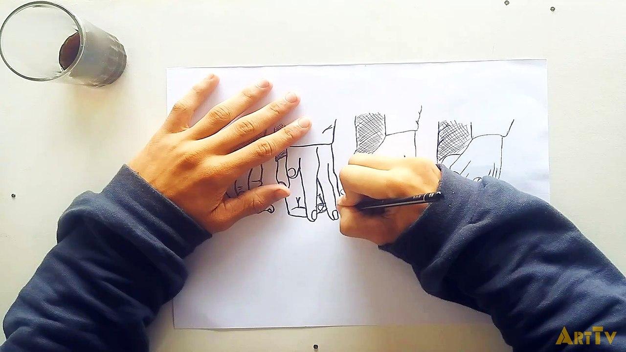 Arttv Como Fazer Um Desenho Realista Tumblr Speed