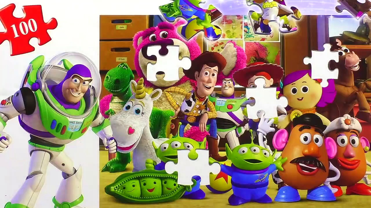 Learn Puzzle TOY STORY Potato Head, Woody, B