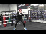 josesito lopez working out shadow boxing - EsNews Boxing