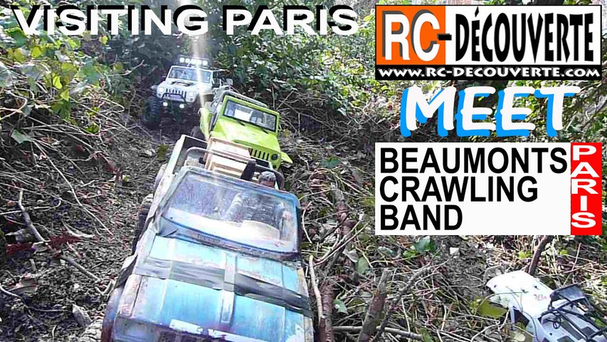 Franchissement 4x4 Rc Scale Crawler Paris : Rencontre Beaumonts Crawling Band