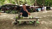 Et cuit dans jus citron vert crevette recette salade crevette thaïlandais ❤