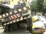 Accident à Grand Dakar, Un camion  finit sa course sur un taxi  - Jt Français