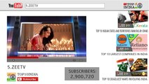 Top 10 Most Subscribed Youtube Channels In India _ Top10INDIA-1kCsyWj_p8E