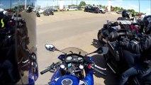 Honda CBR650F Review from Honda Extreme Edmonton Demo Days