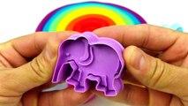 Des voitures enfants les couleurs enfants Apprendre souris jouer course course enseigner jouet jouets Doh surprise Mickey Winnie