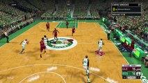 NBA 2K17 My Career - LeBron Scores 7 Points! CFG1! PS4 Pro 4K