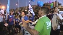 Israelíes salen a la calle para rechazar medio siglo de ocupación de los territorios palestinos