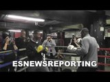 TYSON FURY just TOO SLOW for Deontay WILDER EsNews Boxing