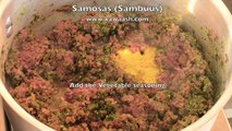 Les légumes de légumes samosas sambuus Samosas