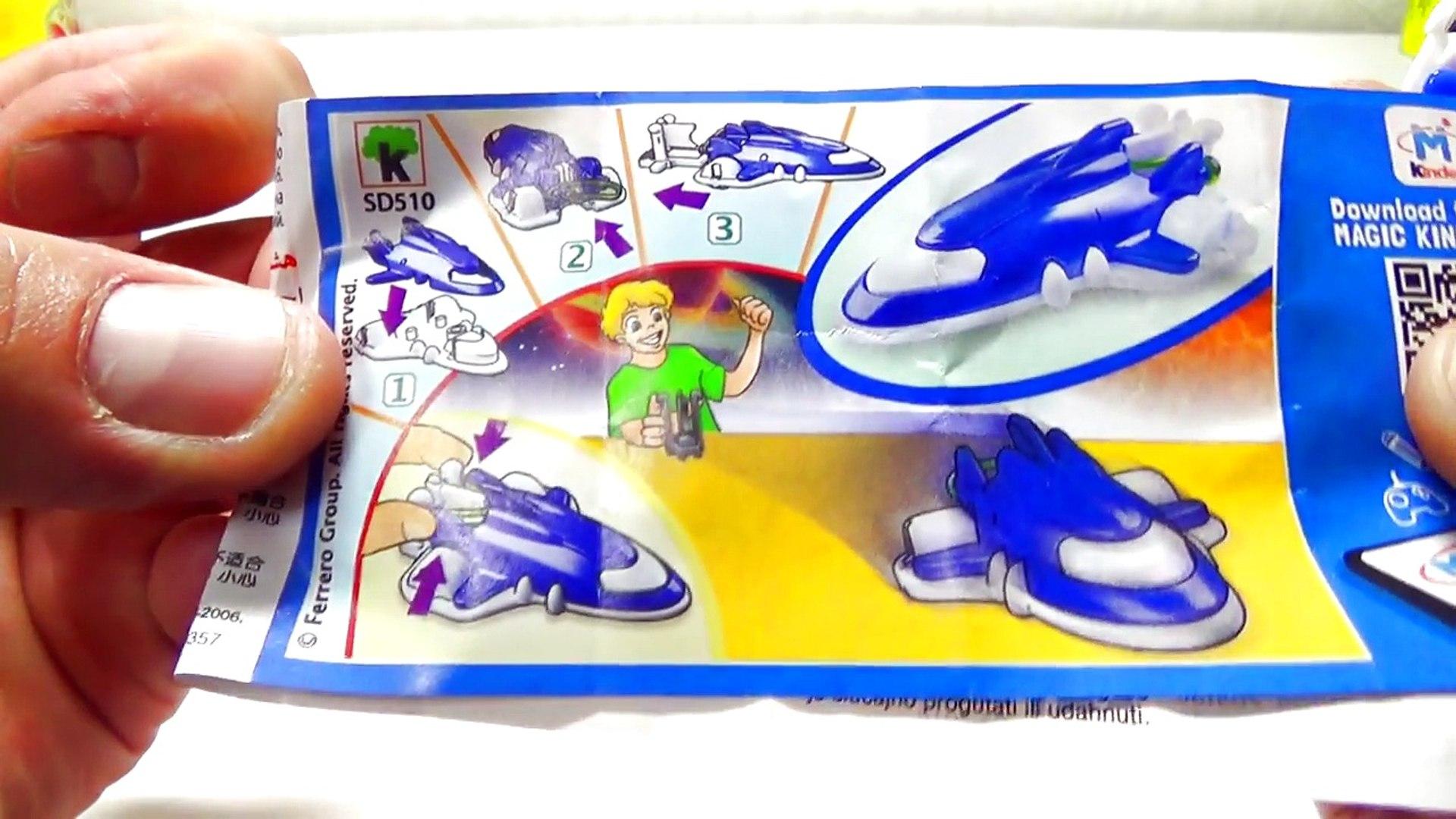Kinder Joy Video For Kids Blue Green Orange Edition Easter egg videos for children I Kids Egg Show