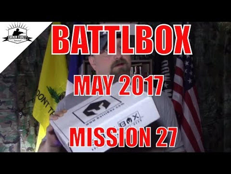 BATTLBOX MAY 2017 MISSION 27