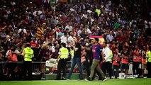 La celebración más íntima y cariñosa de los jugadores del Barça tras ganar la Copa