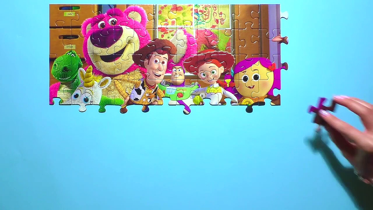 Learn Puzzle TOY STORY Potato ie Play Disne