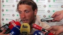 """Roland-Garros 2017 -  Lucas Pouille : """"Je sais que je peux aller loin dans ce tournoi"""""""
