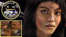 Mona Lisa EBE Apollo 20 & moon spacecraft hoax debunked