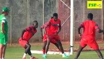 Première séance d'entraînement Match amical Sénégal vs Ouganda
