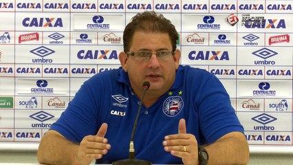 Guto admite que Bahia precisa aumentar elenco para entrar no ritmo da Série A